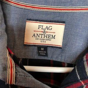 flag & anthem Shirts - Men's Flag & Anthem Flannel